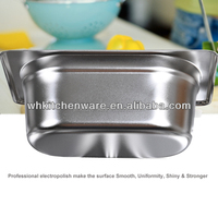 LFGB & NSF Approve Heavy Duty Stainless Steel gn pan restaurant appliances