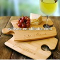 BK-045,Personalized Perfect Fit Bamboo Puzzle Cutting Board Set