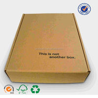 wholesale custom made corrugated box for home appliance