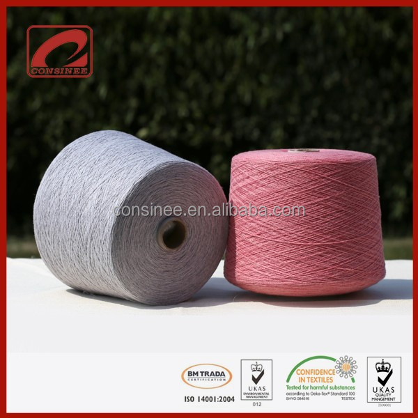 CONSINEE knitwear use ultrasoft handfeel blend angola yarn
