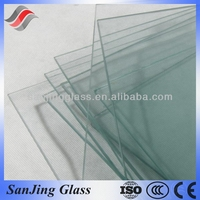 Sandblasting tempered glass door with CCC and CE