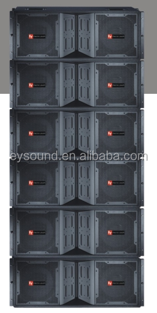 speaker line array 2x12inch active line array with amplifier VT4888A