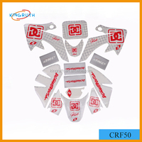 China high quality motorcycle fuel tank stickers for custom motorcycle sticker design