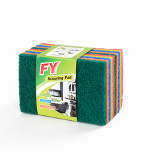 Home and Kitchen Cleaning Product, Polyester Fiber Scouring Pad