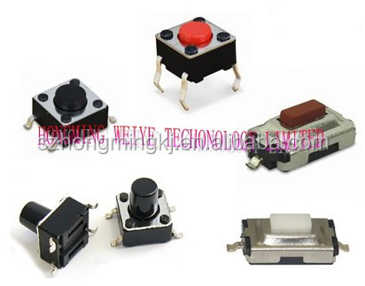 6*6 tactile switch surface mount tact switch