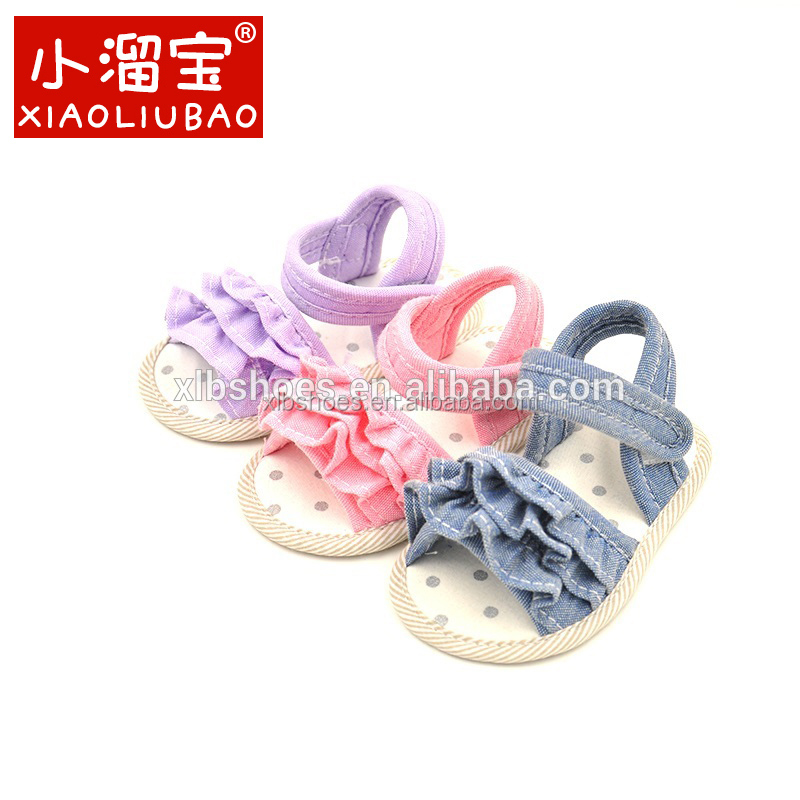 Princess Bebe Girl Footwear Baby Infant Summer Shoes Kids Soft Sole Non-slip Crib Shoes For Baby Girls First Walkers Sandles