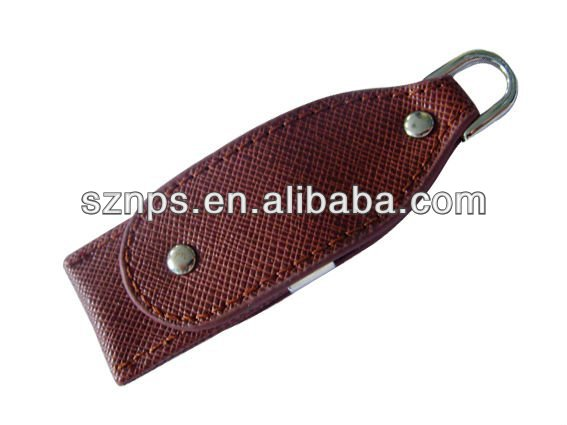 OEM high quality cheap leather 1000gb usb flash memory