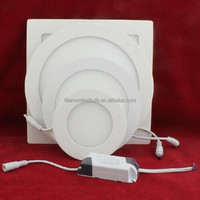 2 Years Warranty DC24V indoor 4 inch round led panel light