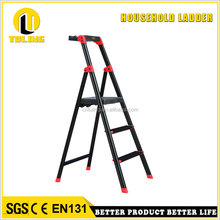TULING (TL-A103) 3 steps aviation aluminum ladder with functional panel