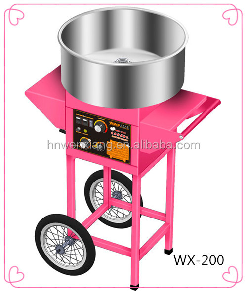 high quality cotton candy machine with ce made in pure copper