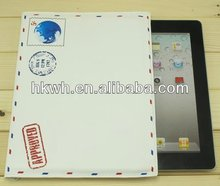 Envelope design PU leather sleeve for ipad2/3/4