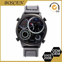 2016 luxury japan movt quartz stainless steel back watches for men wristwatch