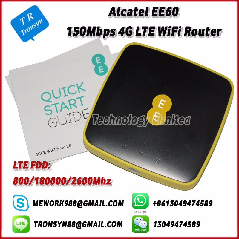 150Mbps Pocket 4G Mini Wifi Router With Sim Card Slot Support LTE FDD B3 B7 B20 With 5150mAh Battery For Alcatel EE60