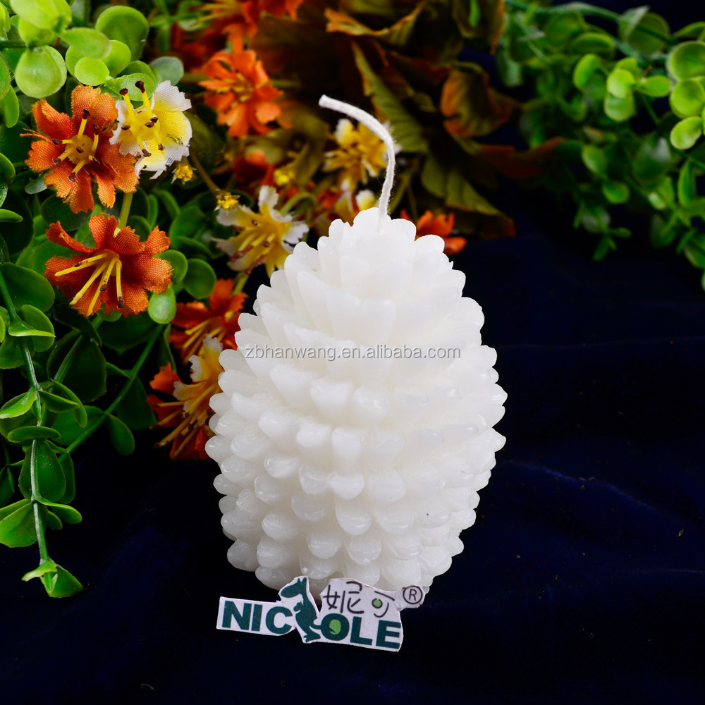 Nicole LZ0011 Wholesale Flexible 3D Pine Cone Shaped Handmade Silicone Molds For Soap