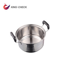 Hot sale American style stainless steel pressure cooker camping steel cooking pot cookware metal cooker king