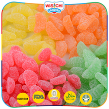 Popular fruity flavors product gummy sweet candy for children