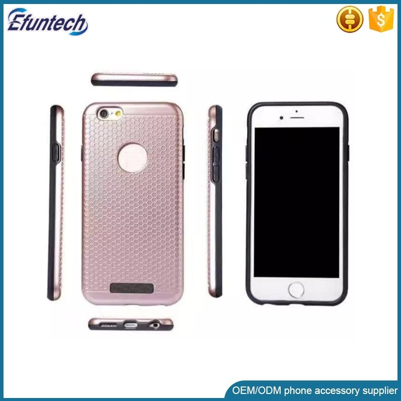 Free sample fashion plastic metal ring stand cell phone case for samsung galaxy s7 s7edge case