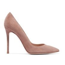 Wholesale factory design ladies sexy pink shoes suede women shoes high heels