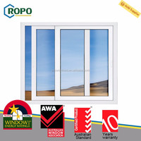 Guaranteed quality proper price cheap price pvc sliding window