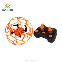 Funny Mini Ball 2.4GHz 4CH RC Quadcopter Drone 3D Flip LED Light climbing wall drone