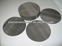 filter wire mesh,304/316Stainless Steel Mesh Discs