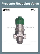 Stainless Steel Direct Acting Bellows Steam Pressure Reducing Valve DN25
