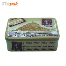 China aluminum personalized pizza tin box