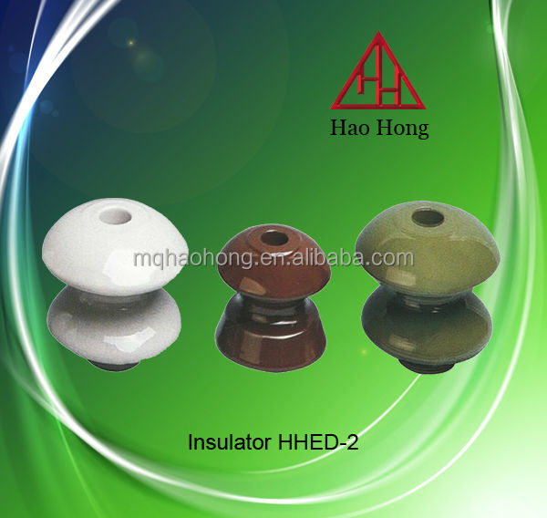 Low Voltage Porcelain shackle types of different insulators