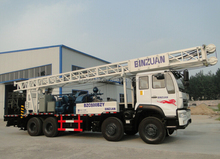 BZC600BZY truck mounted drill rig rotary down the hole rig 600m hole depth 500mm hole diamter water well drilling rig hot sale