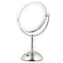 Hollywood Sytle Round Lighted Make Up Mirror Magnifying Led Light Makeup Mirror