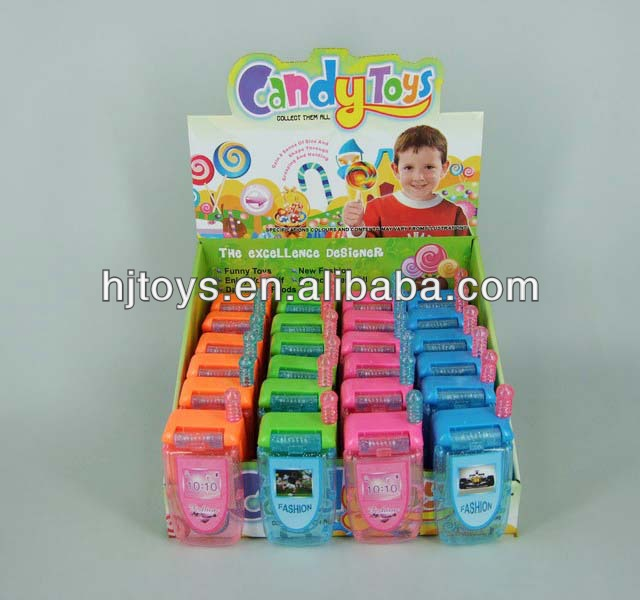 Cell phone toy candy,12 pcs in display box