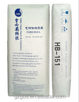 Hydrophobic refractory nano silica price HB-151 fumed silica