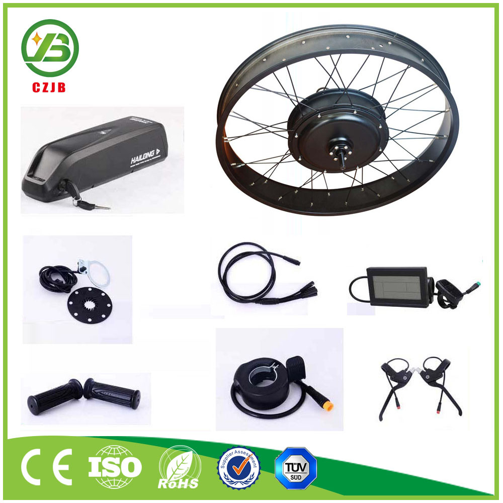 CZJB 48v Gearless Pedelec Fat Bicycle Engine Kit 1500w Electric Bike Kit
