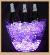 High Quality Plastic Led Ice Bucket