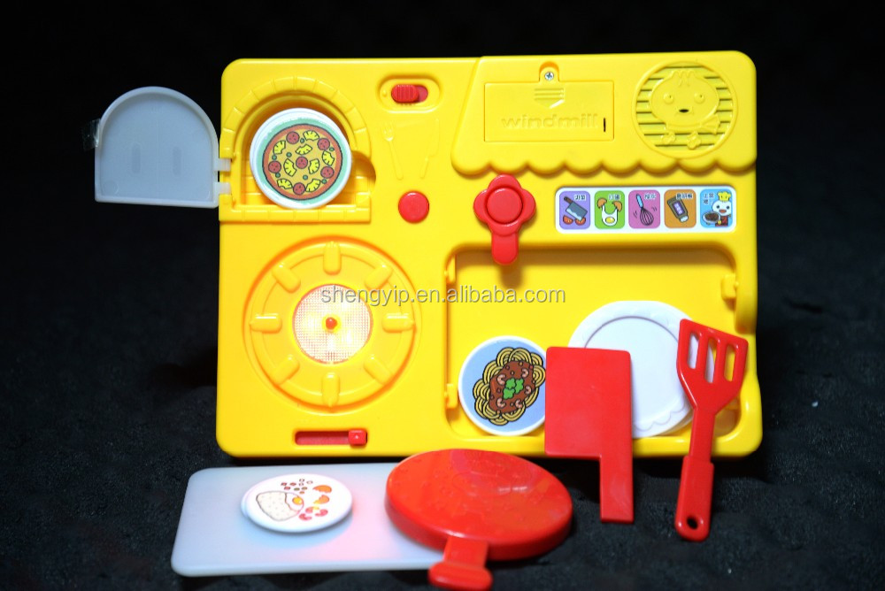Customized baby sound learning playing kitchen toys set for fun