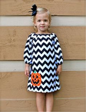 white black chevron clothes halloween outfits baby girls boutique wear