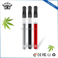 Hottest Product glass tank Atomizer Health care E Cigs mini vape slim smoke cigarettes