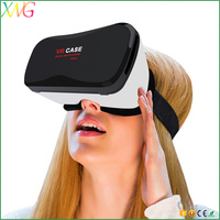 Shenzhen factory VR box 3d glasses virtual reality VR Case 5 Plus for IOS and Android mobile phone