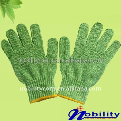 western electrical hand knitted safety gloves