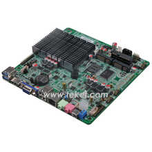 Thin Intel Celeron J1900 Mini-ITX Motherboard J1900MT quad core, Bay trail 2.42Ghz,thread 4, HDMI 12VDC for IPC/AIO ALL IN ONE