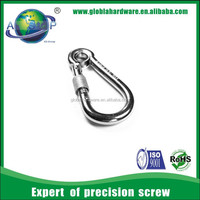 stainless steel Over circle type small screw hooks