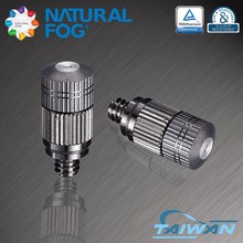 Taiwan Natural Fog Brass Fog Nozzle High Pressure Mist Water Spray Nozzle