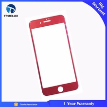 9H 3D Full Cover Anti Break Red Tempered Glass Screen Protector for iPhone 7
