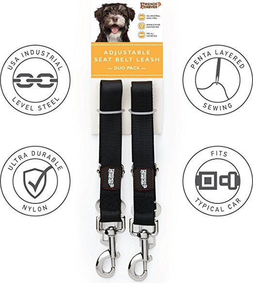 Amazon Hotsell Pet Products Adjustable Pet Car Safety Seat Belt