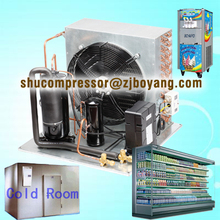 Cold room boyard type hermetic compressor condenisng unit for milk cooling tank parts
