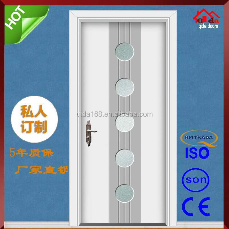 Wooden Vent Main Double Entry Door Of House