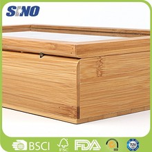 Household Bamboo Japanese Small Old Tea Box