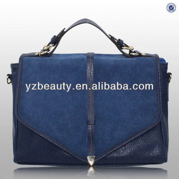 Fashion New Teenage Satchel Bag Suede Leather Bags for Women