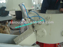 Plastic agglomerator for pp,pe granulating machine