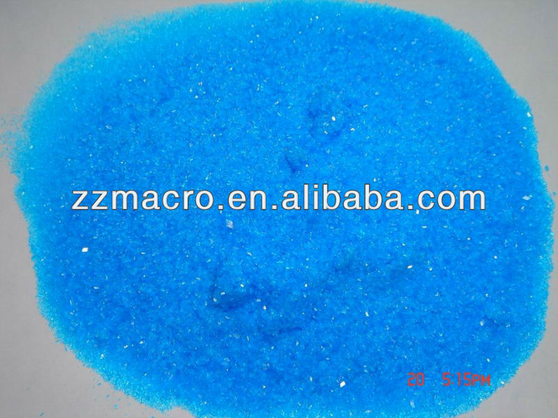 Gold supplier best sales Blue Crystal Copper Sulfate 98% Cuso4.5h2o